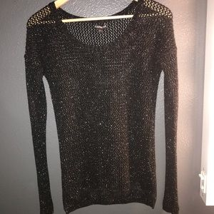 Express Glittery Knitted Blouse